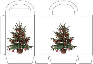 Christmas Tree Party Bag