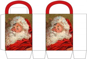 Father Christmas Party Bag
