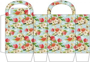 Flowers and Butterflies Party Bag