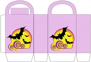 Free printable bats party bag