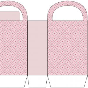 Heart Patterned Party Bag