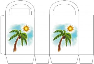 Palm Tree Party Bag