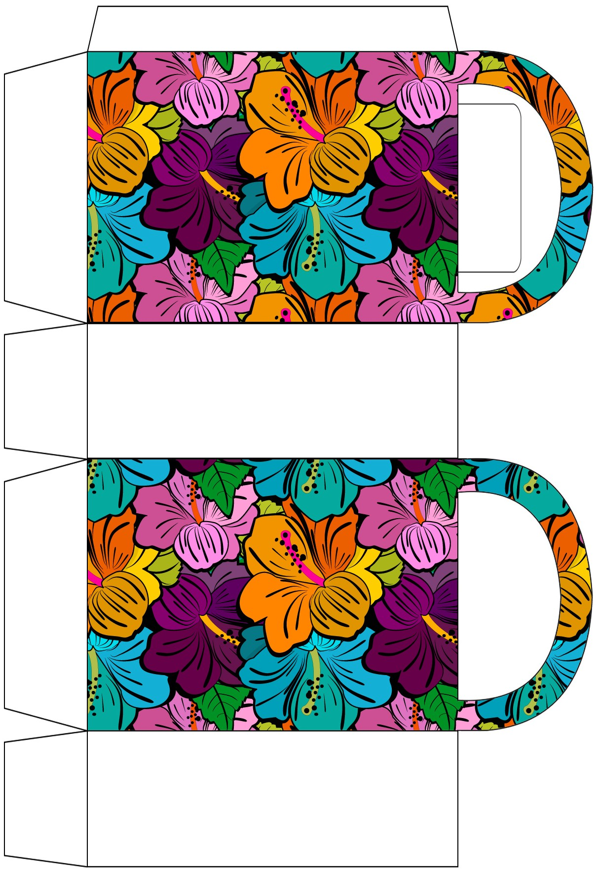 Bright Blooms Party Bag