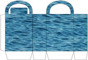 Rippling Ocean Party Bag