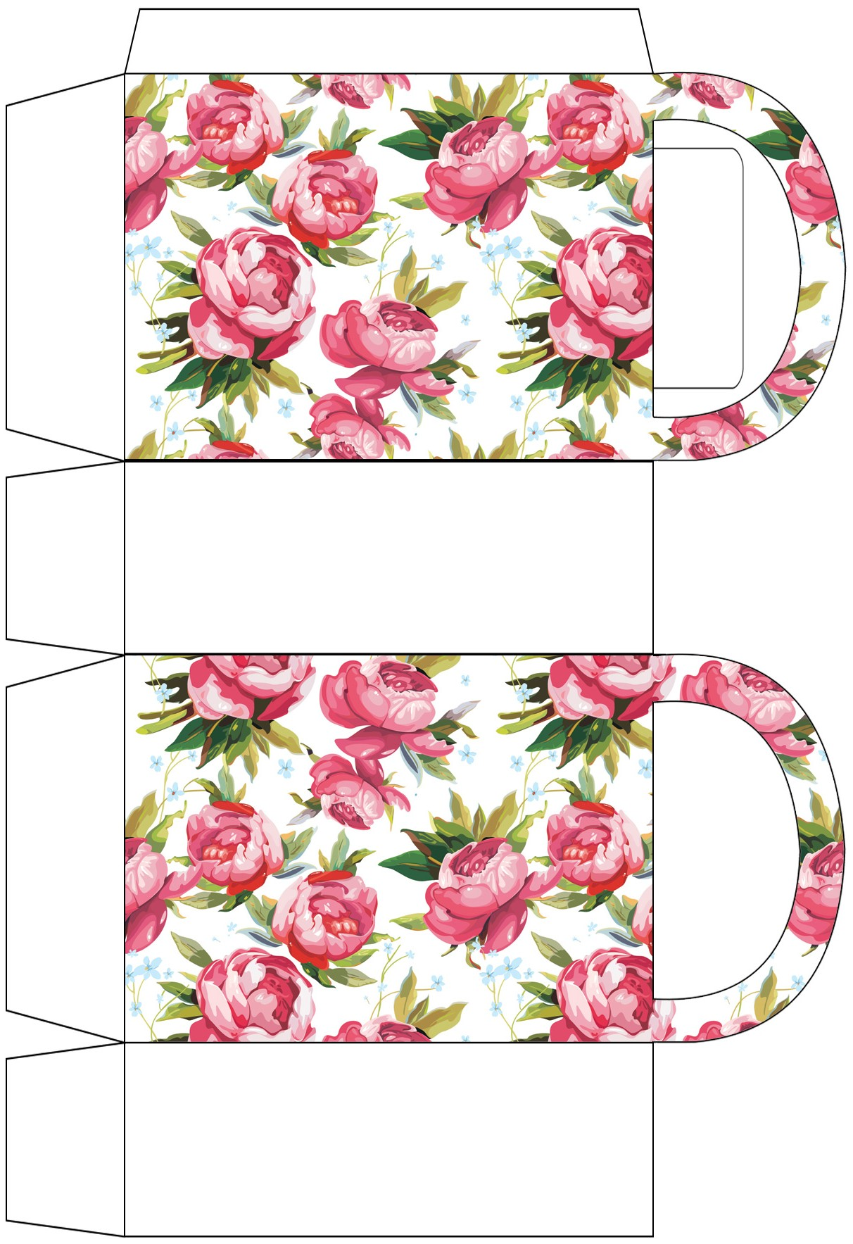 Roses Party Bag Rooftop Post Printables