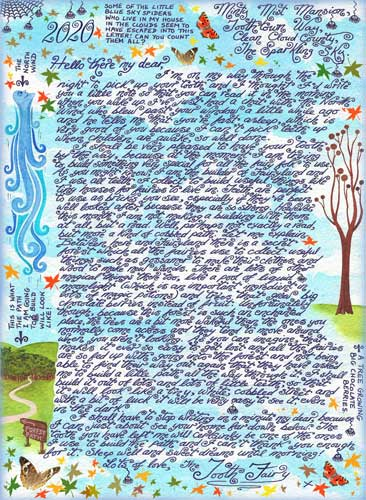 """Tooth Fairy Letter """"Building a Fairy Path"""""""