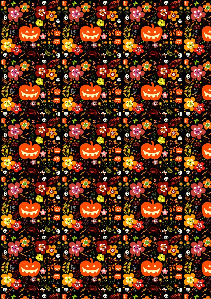 Free Halloween Digital Scrapbook Paper