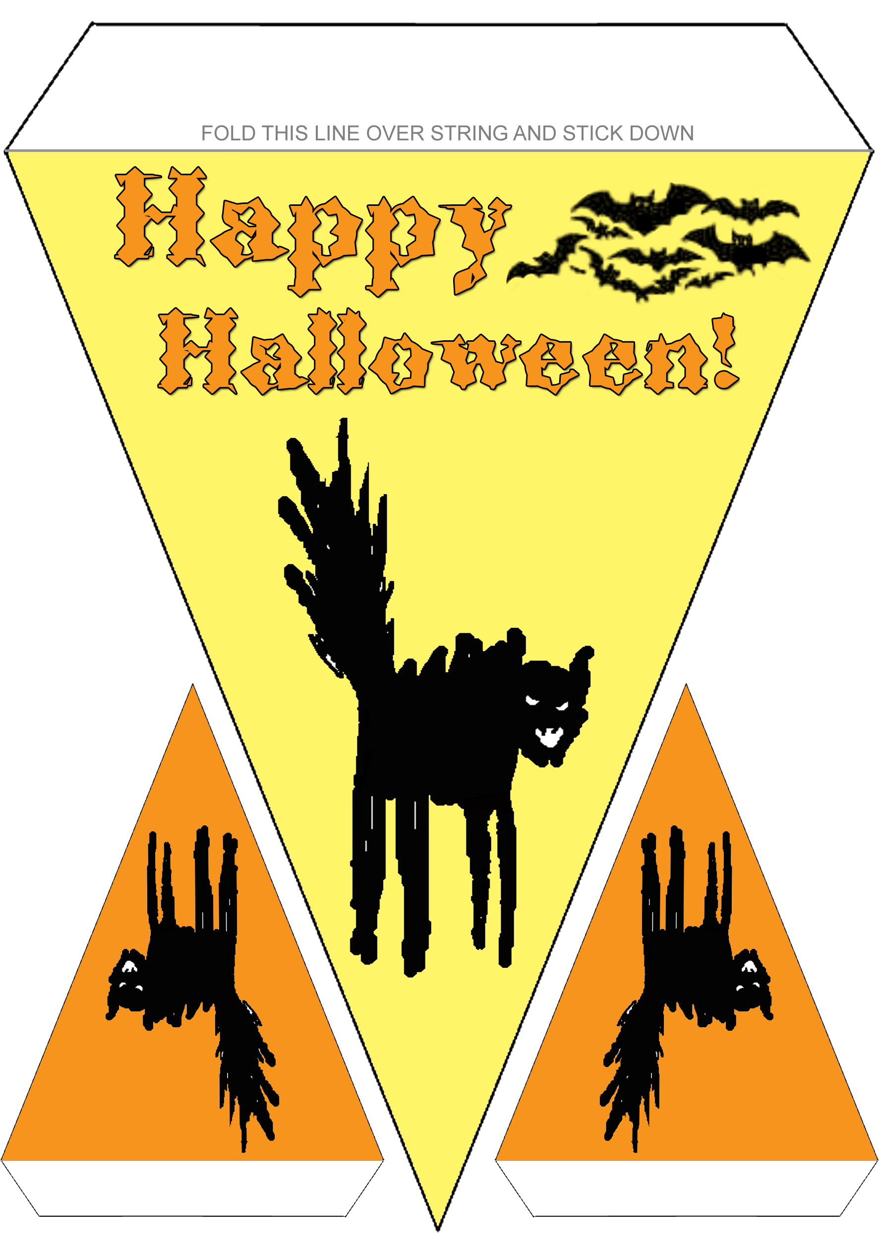 Printable Halloween Bunting