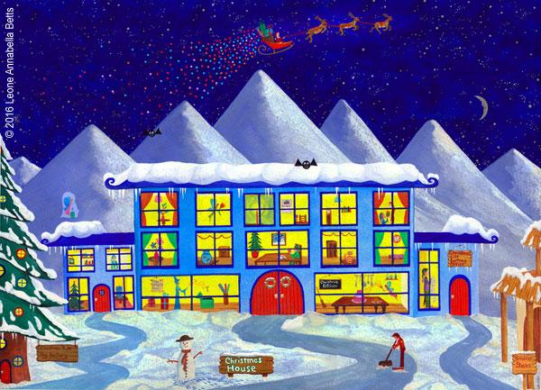 Santa's House at the North Pole