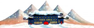 tricksydrift_mountains_and _christmas_house