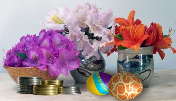 money-flowers-easter-gifts