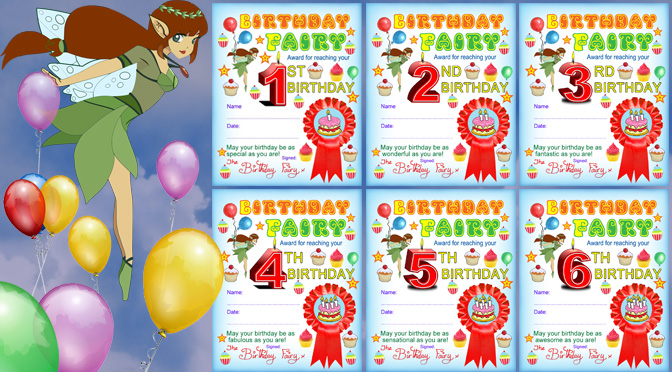 image about Printable Birthday Certificates titled Birthday Certificates Rooftop Short article Printables