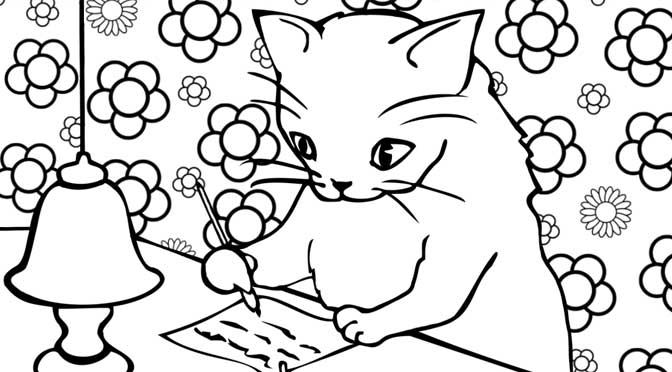 New Colouring Pages