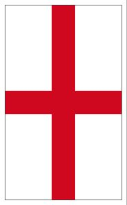 Printable St George's Cross flag