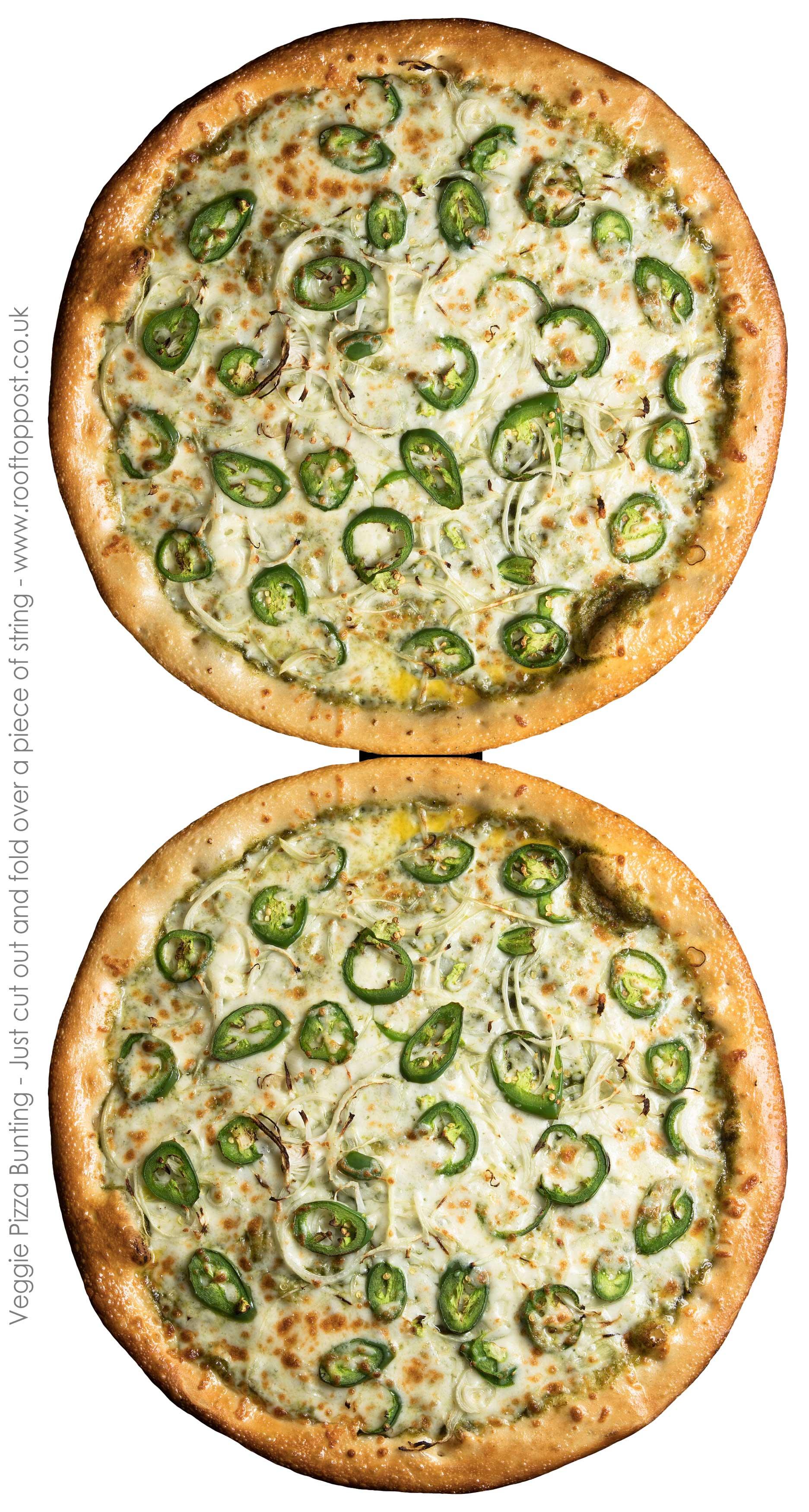 Veggie Pizza Bunting