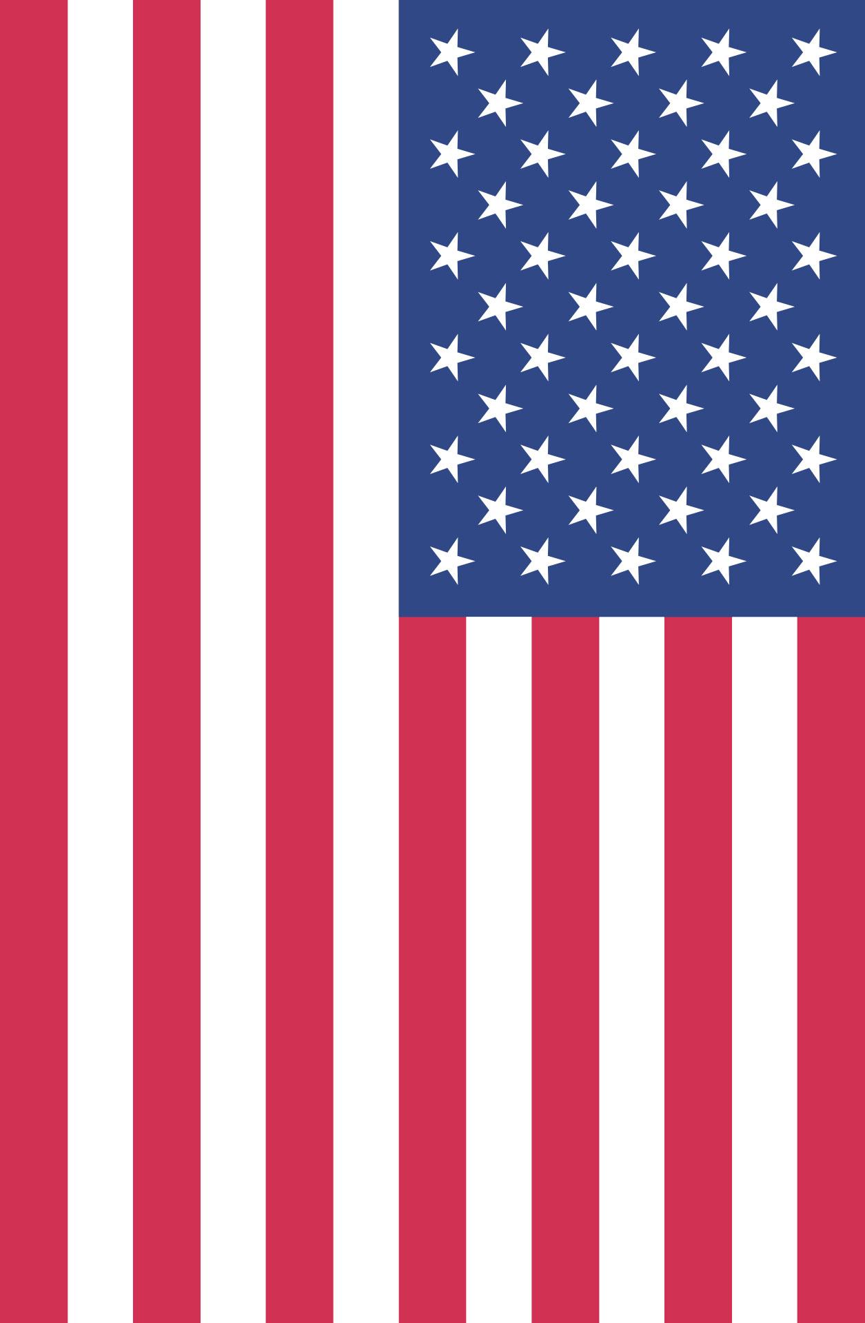 American Flag Rooftop Post Printables