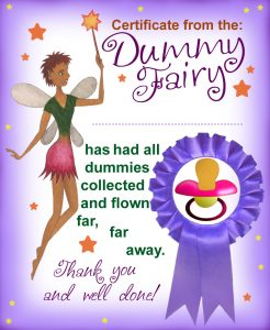 Printable Purple Dummy