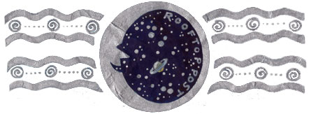 The Rooftop Post moon and stars logo
