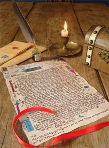Magical letters from Father Christmas that you can personalise for your child.  Santa Claus has never seemed more real!