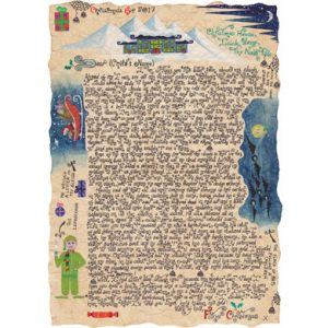 The Green Man and His Gold is a Father Christmas Story Letter