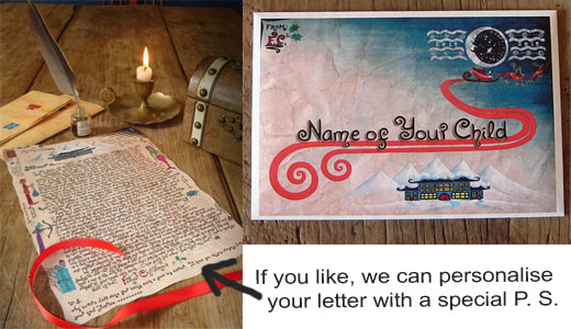 Personalised Father Christmas (or Santa) Story Letter