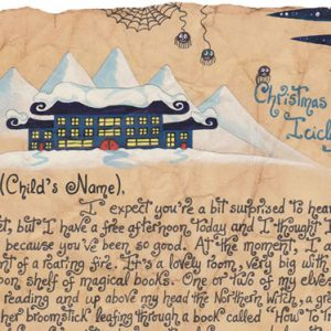 Letter from Santa - A Winged Gift