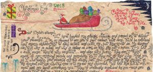 Santa Story-Letter - Dropping Off Your Presents