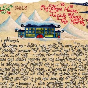 Santa Story-Letter - Horrid Weather and the Helpful Bird
