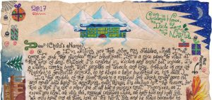 """Father Christmas Letter: """"Inside the Reindeer Stables"""""""