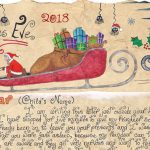 Santa Story-Letter - Just Outside Your House