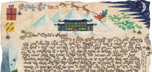 Santa Story-Letter - Mystery of the Missing Reindeer