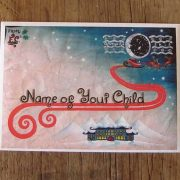 All Father Christmas letters come in a personalised envelope