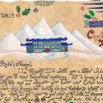 Christmas Morning Letter from Santa - The Giant and the Moths