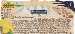 Santa Story-Letter - The Knotty North Wind