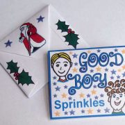 Photo showing front and back of a packet of Good Boy Sprinkles.