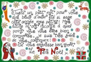 Lettre du Père Noël: Juste un petit mot pour vous dire bravo!