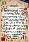 A printable letter from Father Christmas for a child who has a key worker in the family.
